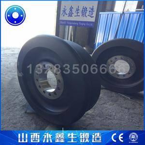 桥式堆取料机车轮