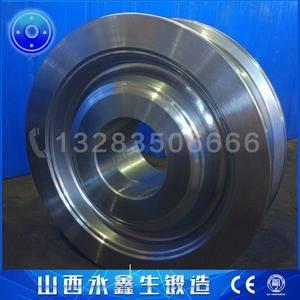 式刮板取料机车轮