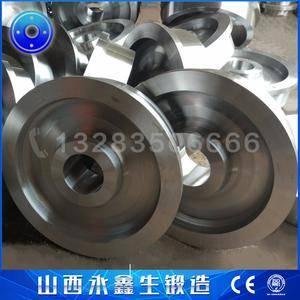 刮板式圆形料场堆取料机车轮