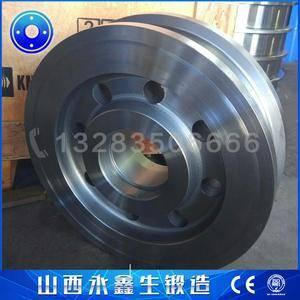 门式斗轮堆取料机车轮锻件