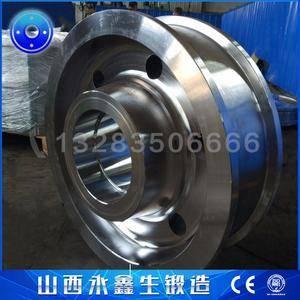桥式堆取料机车轮锻件