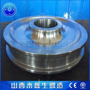 悬臂式斗轮堆取料机锻造车轮