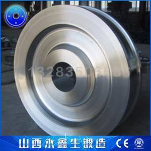门式刮板取料机锻造车轮