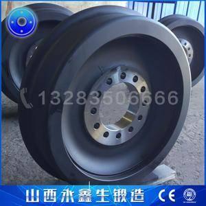 刮板式圆形料场堆取料机锻造车轮