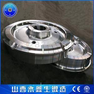 钢厂台车车轮锻件