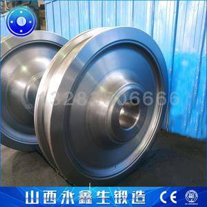 铁水罐倾翻车车轮锻件