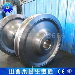 钢水罐回转车车轮锻件