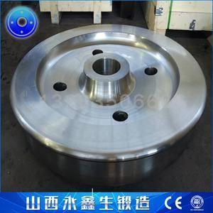 水泥机设备车轮锻件