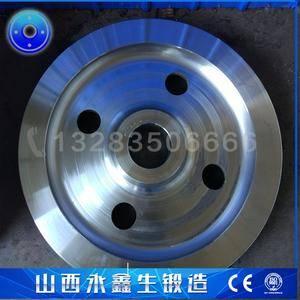 钢轨轮车轮锻件