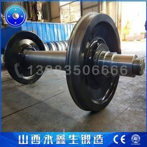 转向架车轮组车轮锻件
