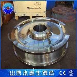 钢厂冶金车轮锻件