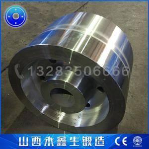 焊接操作机托轮锻件