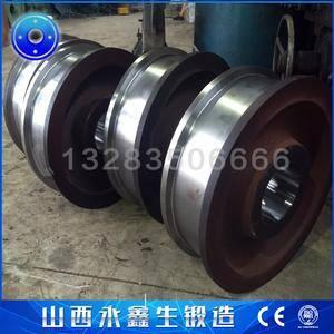 门式链斗卸车机车轮锻件