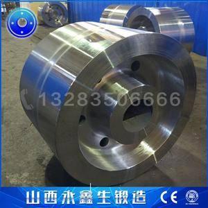 高炉铁水罐车车轮锻件