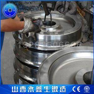 商栓搅拌车滚轮锻件