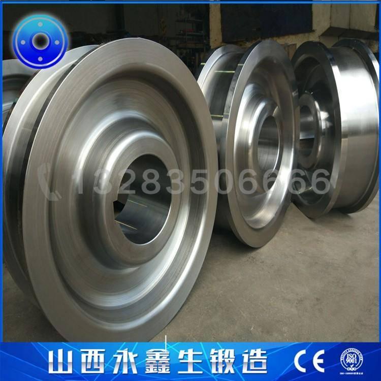 钢厂起重机车轮锻件